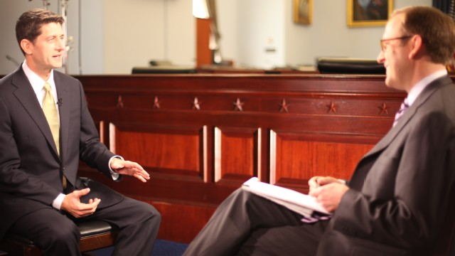 ABC News's Jonathan Karl sits down with Congressman Paul Ryan for his first post-election network television interview. 