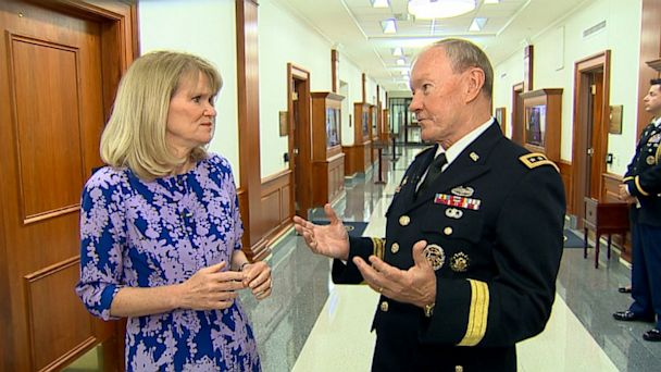 abc Dempsey Raddatz kb 130803 16x9 608 Gen. Martin Dempsey: It Wouldnt Surprise Me If Russians, Chinese Have Obtained Snowdens NSA Secrets