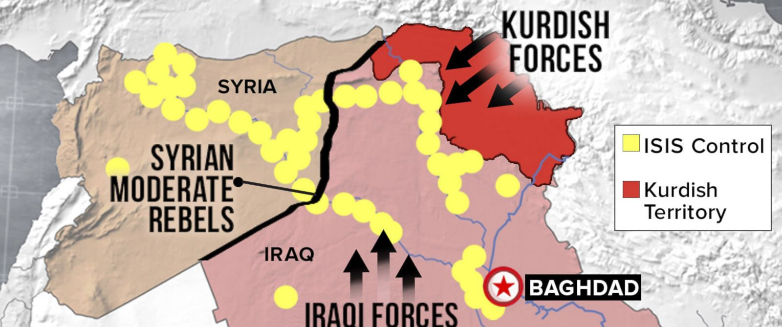PHOTO: Obama Administration's Strategy for Defeating Isis in Iraq
