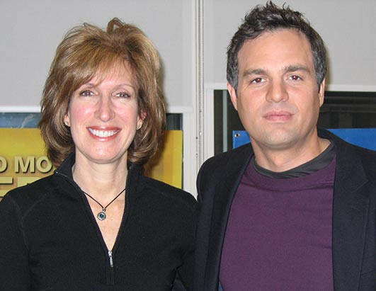 Actor Mark Ruffalo, pictured right, has donated to long-shot Democratic presidential candidates.