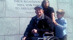 Low-Income, World War II Veterans Visit Memorial in Washington, D.C.