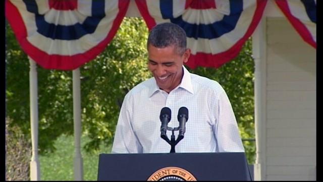 VIDEO: Obama Mocks Romney for Seamus The Dog