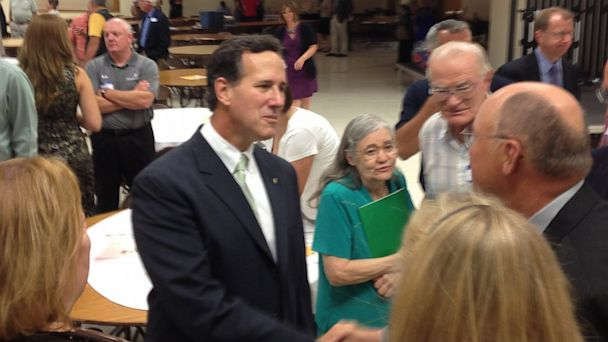 A Day In The Life Of Once, And Possibly Future, Presidential Candidate Rick Santorum
