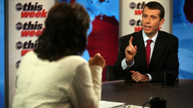 PHOTO:&nbsp;White House Senior Advisor David Plouffe