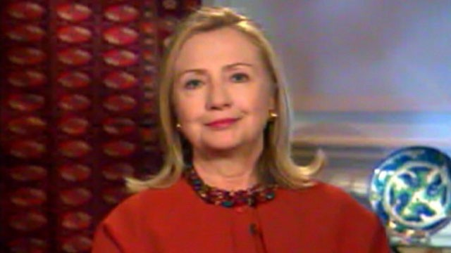 PHOTO: Secretary of State Hillary Clinton