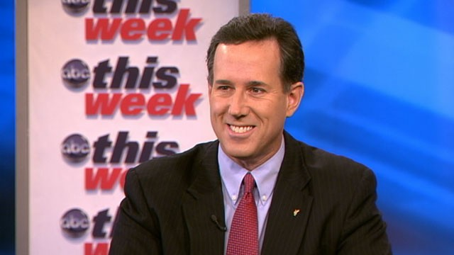 PHOTO: Rick Santorum