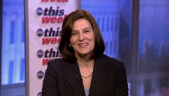 "PHOTO: Victoria Kennedy, widow of late Sen. Ted Kennedy appears on ""This Week."""