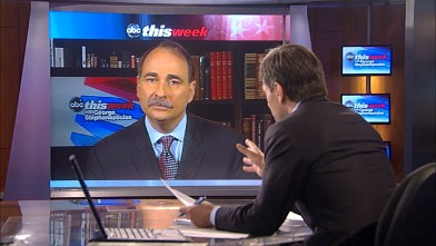 "PHOTO: Obama Campaign Senior Adviser David Axelrod on ""This Week"""