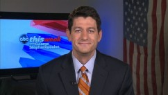 "PHOTO: Chairman of the House Budget Committee, Rep. Paul Ryan (WI), on ""This Week"""