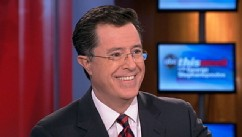 "PHOTO: Stephen Colbert on ""This Week"""