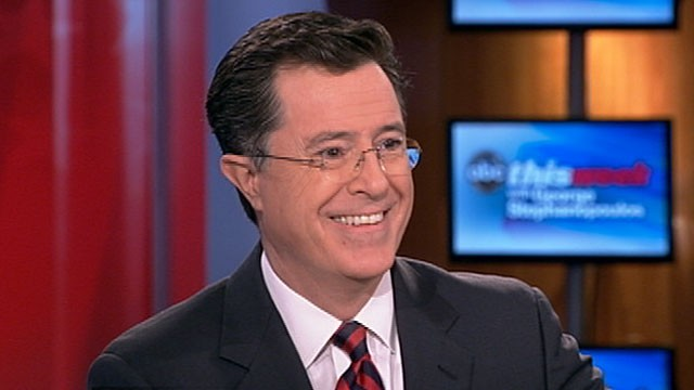 PHOTO: Stephen Colbert on