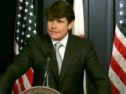 VIDEO: Rod Blagojevich recites poetry.