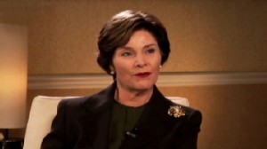 VIDEO: Laura Bush discusses her daughters work in education and global health.