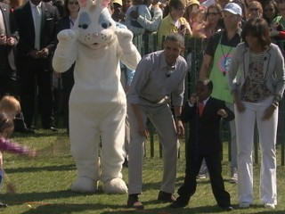 Watch: Kid President Helps Launch White House Easter Egg Roll