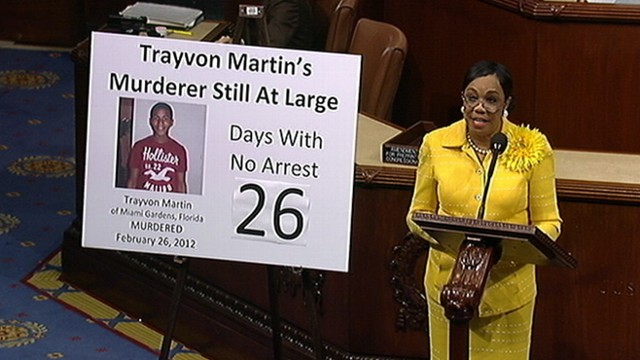VIDEO: Rep. Frederica Wilson delivers speech on the House floor about slain teen.