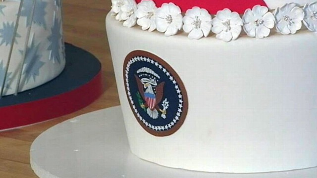 VIDEO: Ace of Cakes Provides Cake for Inauguration Ball