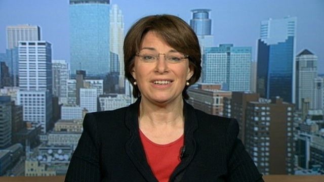 PHOTO: Senator Amy Klobuchar, (D) Minnesota, on 'This Week'