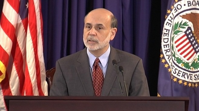 VIDEO: Chairman Ben Bernanke's discussion marks an effort toward greater transparency.