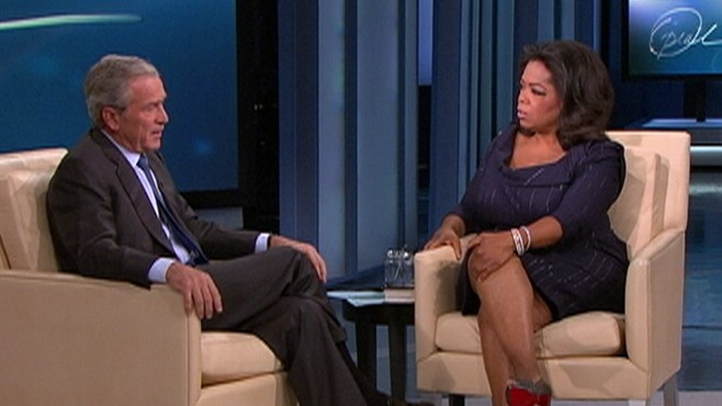 Video: Former President George Bush on Oprah.