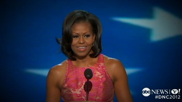 VIDEO: Democratic convention highlights include first ladys speech, keynote address.