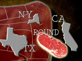 Watch: Presidential Election 2012: Electoral College Votes as Cuts of Beef