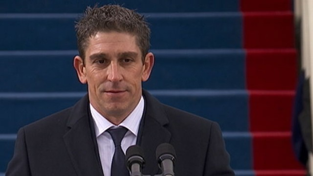 VIDEO: American poet is the youngest in history to read at inaugural ceremony.
