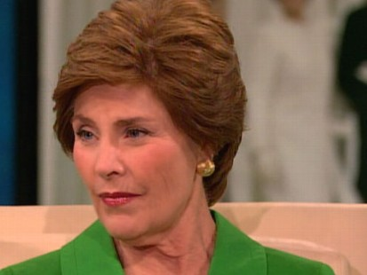 VIDEO: Former first lady talks about being in the White House on 9/11.