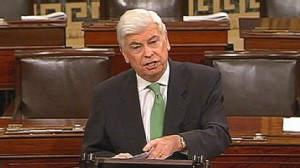 VIDEO: Sen. Chris Dodd, D-Conn., plans an overhaul of financial regulations without bipartisan support.