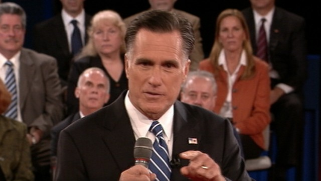 Highlights from Obama and Romney's town hall debate, moderated by Candy Crowley.