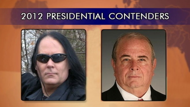 VIDEO: The list of growing 2010 presidential contenders includes a vampire and conspiracy theorist.