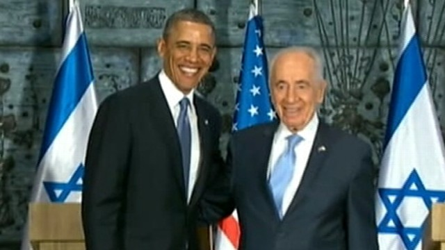 Video: Obama, Peres Deliver Remarks in Jerusalem: ABC News Digital Report