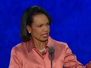 Watch: Condoleezza Rice RNC Speech: Peace From Strength