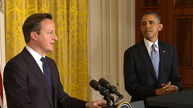 VIDEO: President Obama, British PM David Cameron