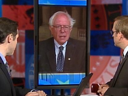 """Video: Sen. Bernie Sanders talks energy on """"Top Line."""""""