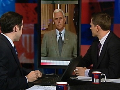 "Video: Rep. Mike Pence, R-IN., on ""Top Line."""