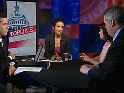 "Video: Dueling pollsters on ""Top Line."""