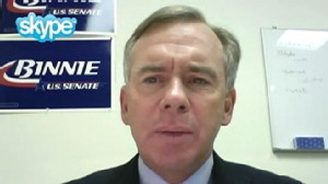 "Video: NH GOP Senate Candidate Bill Binnie on ""Top Line."""