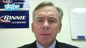 "Video: NH GOP Senate Candidate Bill Binnie on ""Top Line."""