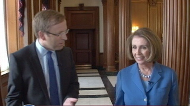 VIDEO:Nancy Pelosi: Good Chance of Taking The House