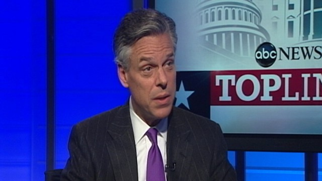 VIDEO: Jon Huntsman on ABCs Top Line, Part 1