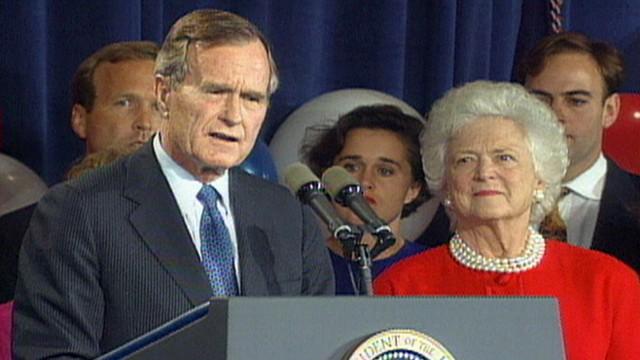 nov 3 1992 president george h w bush concedes election video