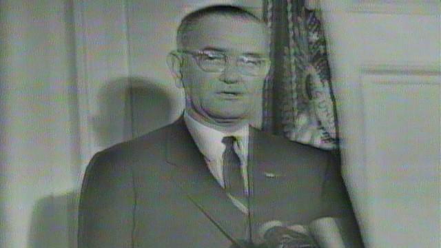 President Johnson Declares Day of Mourning for President ...