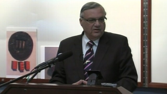 "VIDEO: Sheriff Arpaio presents results of volunteer ""cold-case pose"" investigation."