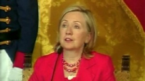VIDEO: Hillary Clinton says the federal government plans to sue Arizona over its immigration law.