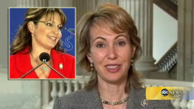 VIDEO: SarahPac election ad had gun sights that targeted Rep. Giffords' district.