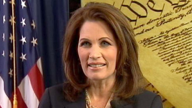 VIDEO: Rep. Michele Bachmann, R-Minn., delivers rebuttal to Obamas address.