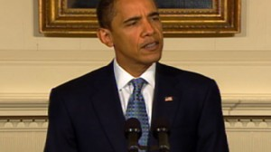 Video of Barack Obama talking about the cash for clunkers program, GDP and economy.