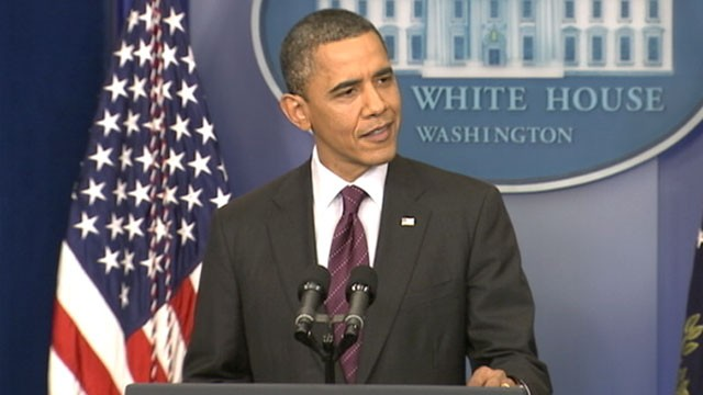 PHOTO: President Barack Obama holds a press conference, March 6, 2012.