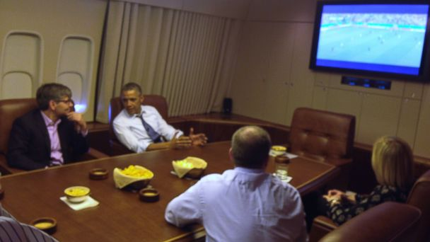 abc barack obama george stephanopoulos FIFA world cup jc 140626 16x9 608 Obama: World Cup Impacting Some Foreign Policy Moves