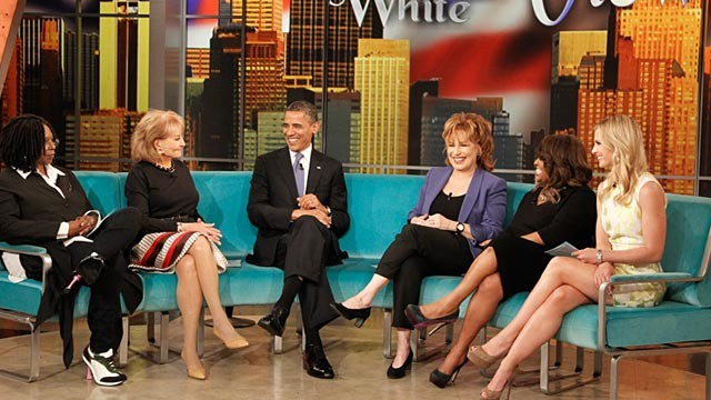 "PHOTO: An exclusive interview with President Barack Obamawill air on ABC's ""The View,"""